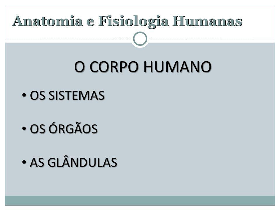 Anatomia e Fisiologia Humanas