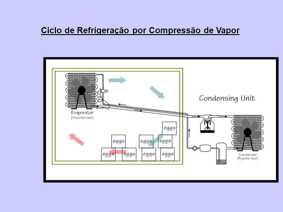 Ciclo de Refrigeração por Compressão de Vapor