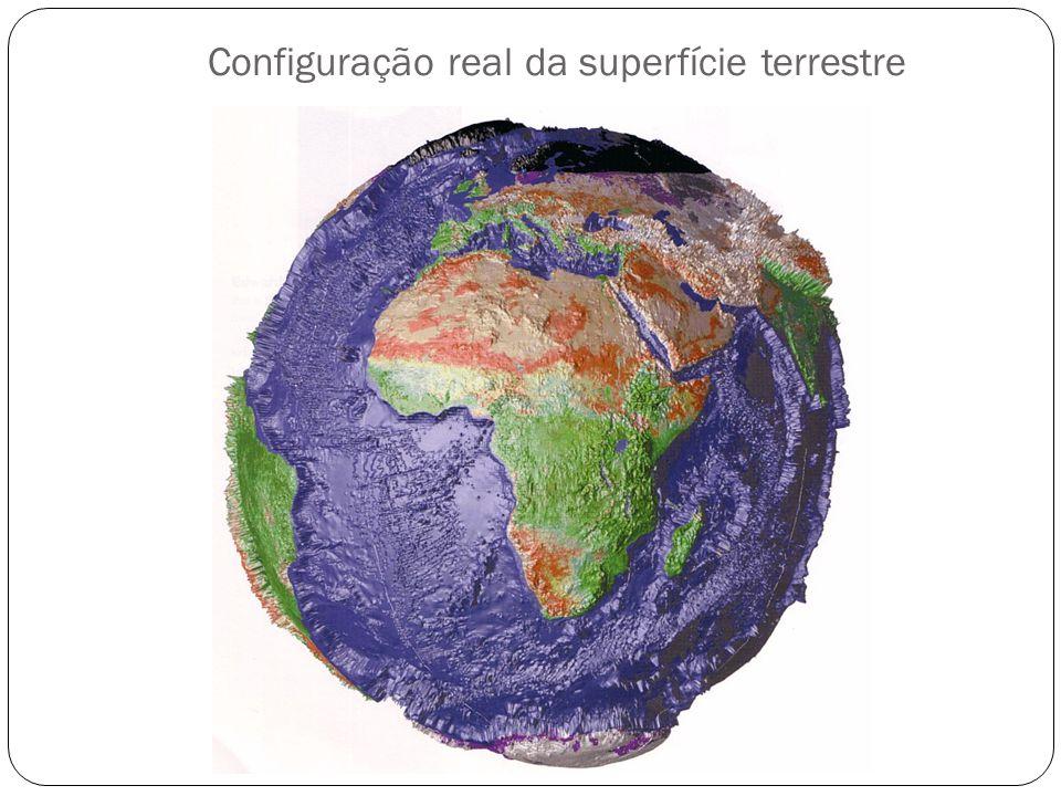 Configuração real da superfície terrestre