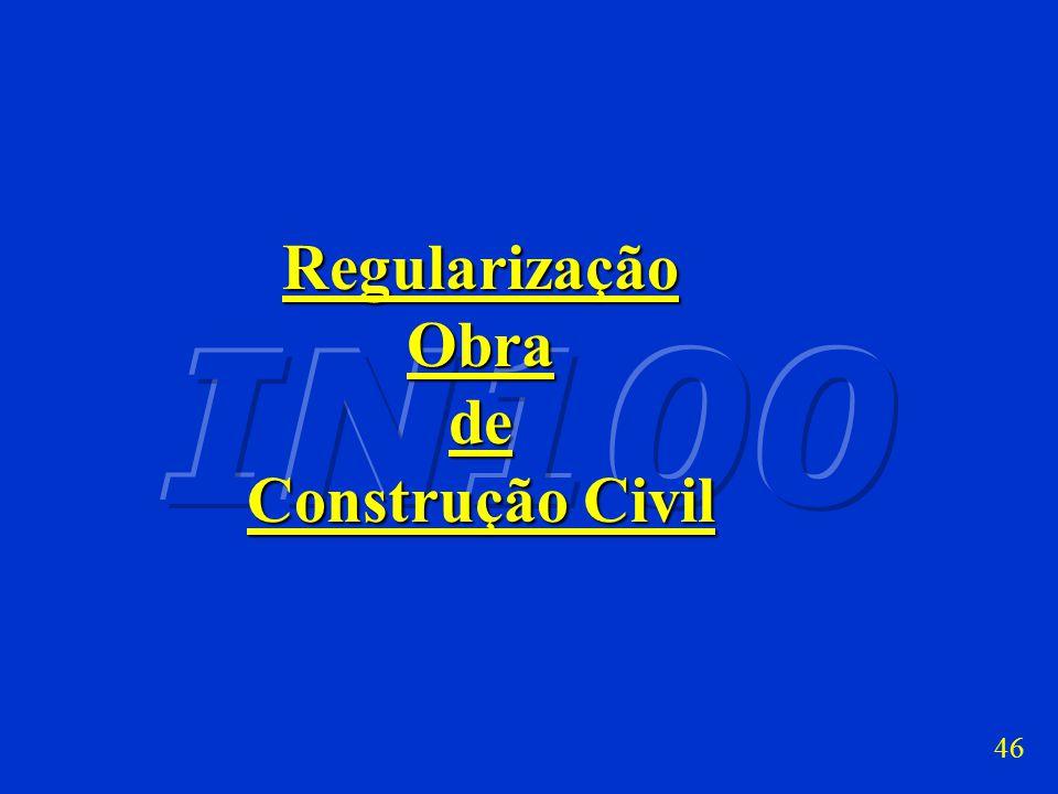 Regularização Obra de Construção Civil