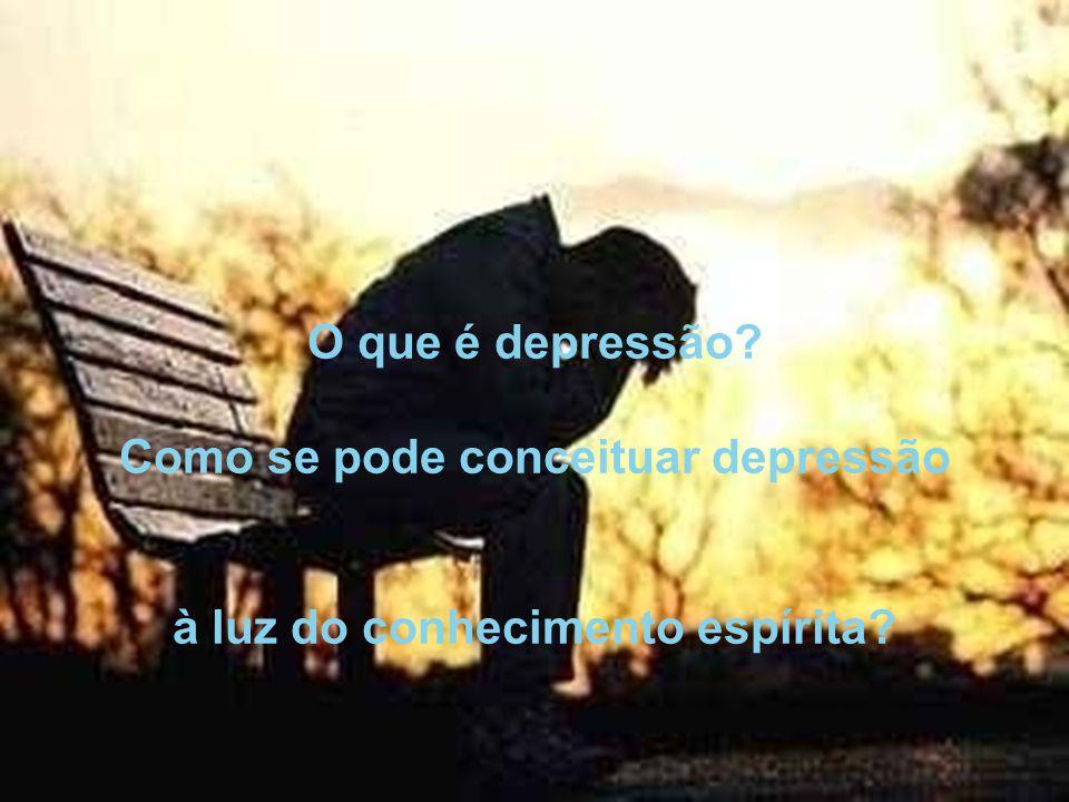 Como se pode conceituar depressão