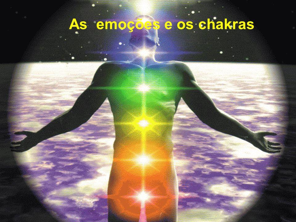 As emoções e os chakras As emoções e os chakras