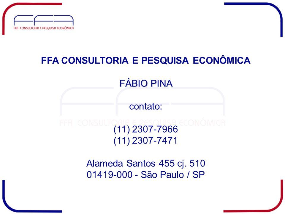 FFA CONSULTORIA E PESQUISA ECONÔMICA