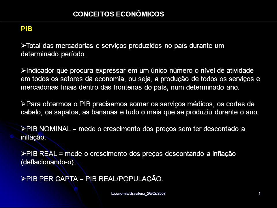 Economia Brasileira_26/02/2007