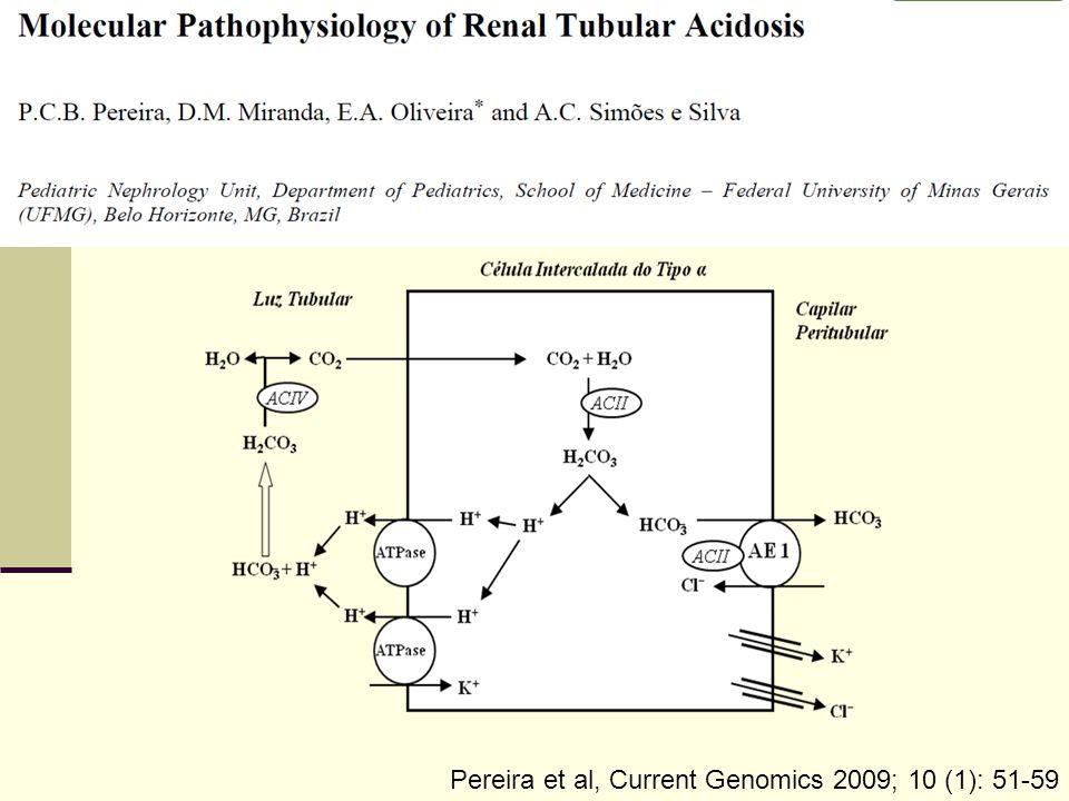 Pereira et al, Current Genomics 2009; 10 (1): 51-59