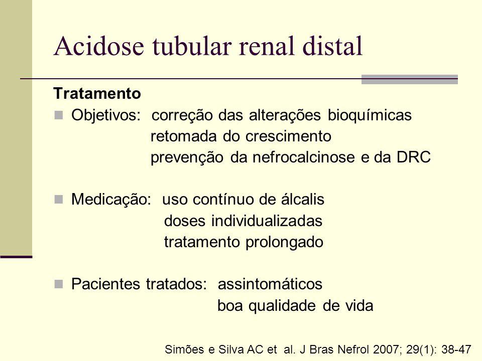 Acidose tubular renal distal