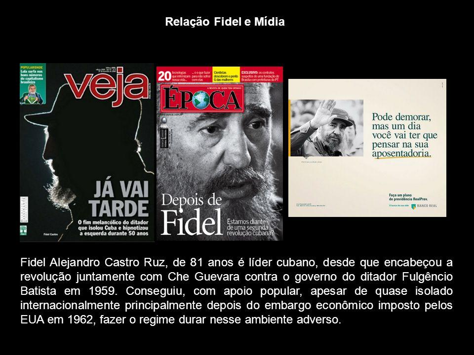 Relação Fidel e Mídia