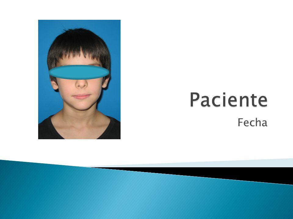 Paciente Fecha