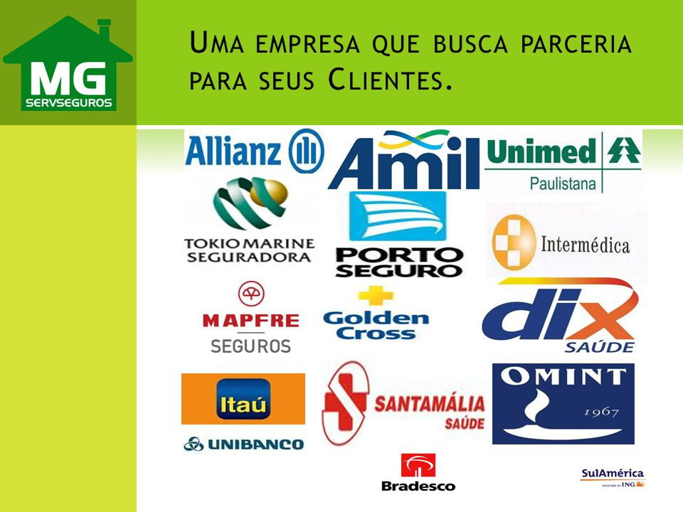 Uma empresa que busca parceria para seus Clientes.