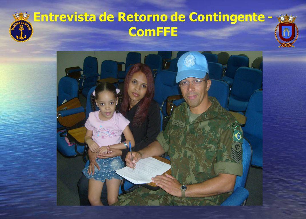 Entrevista de Retorno de Contingente - ComFFE