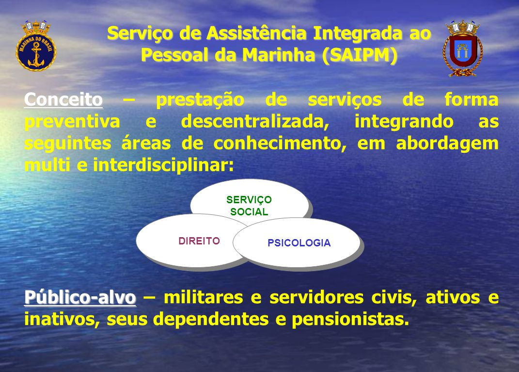 Serviço de Assistência Integrada ao Pessoal da Marinha (SAIPM)