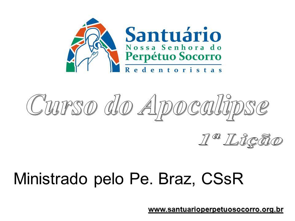Ministrado pelo Pe. Braz, CSsR