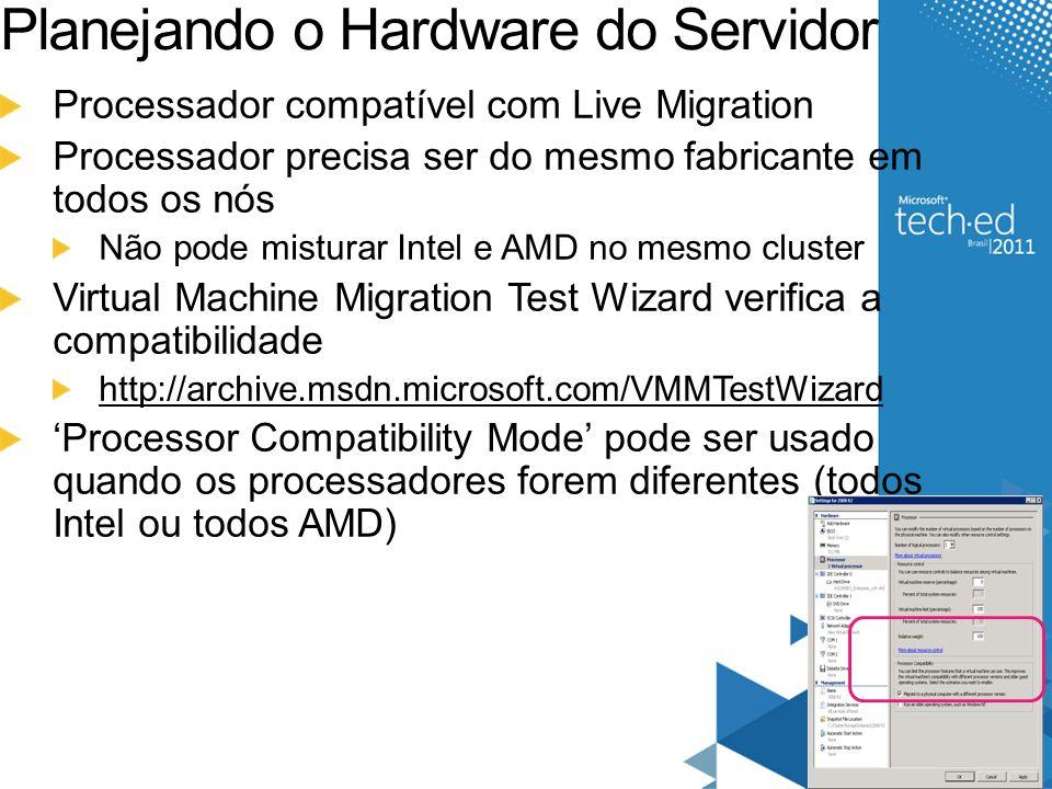 Planejando o Hardware do Servidor