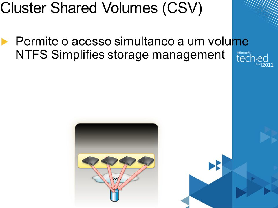 Cluster Shared Volumes (CSV)