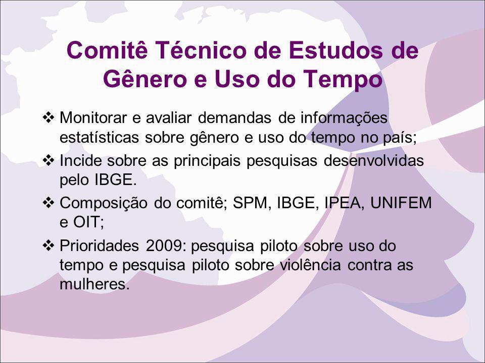 Comitê Técnico de Estudos de Gênero e Uso do Tempo