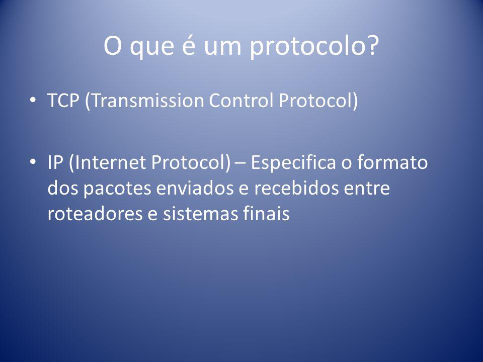 O que é um protocolo TCP (Transmission Control Protocol)