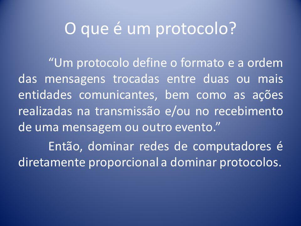 O que é um protocolo