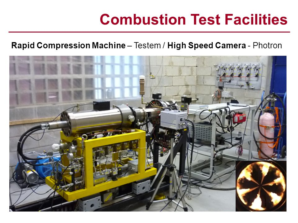 Combustion Test Facilities