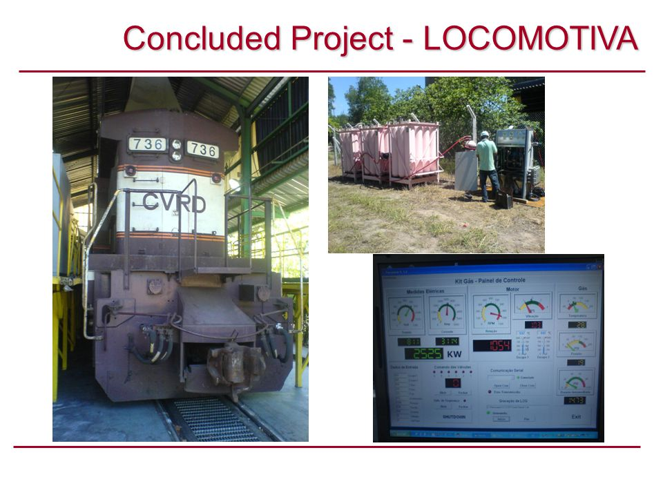 Concluded Project - LOCOMOTIVA