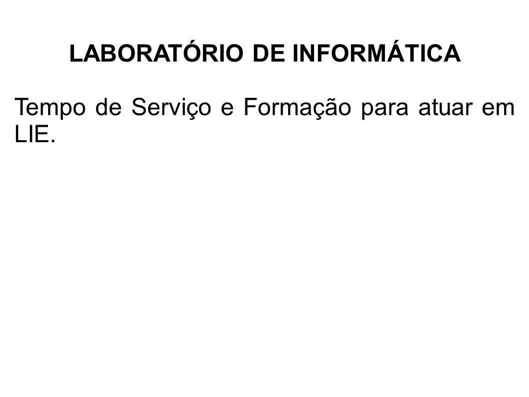 LABORATÓRIO DE INFORMÁTICA