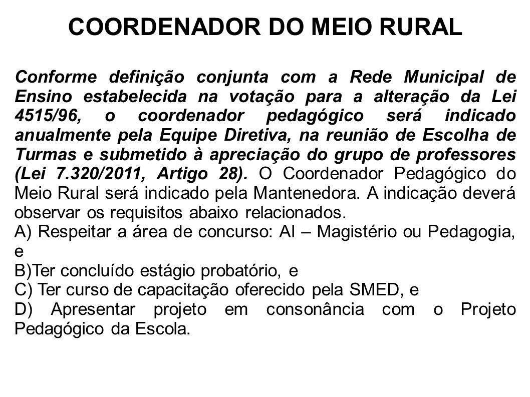 COORDENADOR DO MEIO RURAL