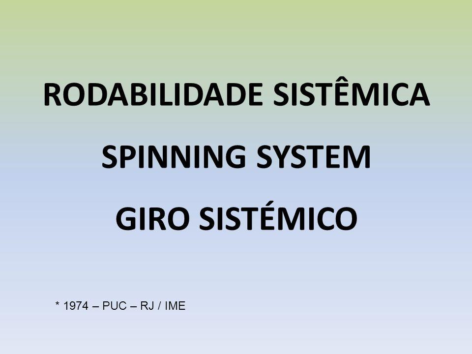 RODABILIDADE SISTÊMICA SPINNING SYSTEM GIRO SISTÉMICO