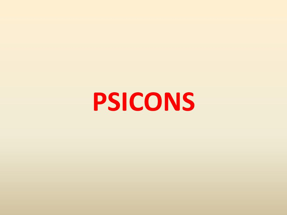 PSICONS