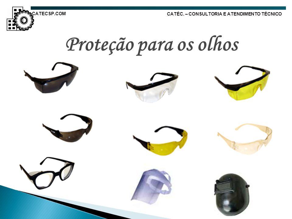 Proteção para os olhos CATECSP.COM