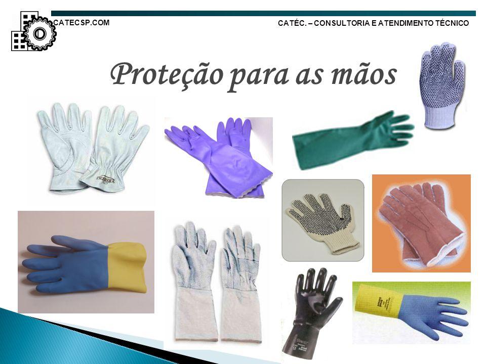 Proteção para as mãos CATECSP.COM
