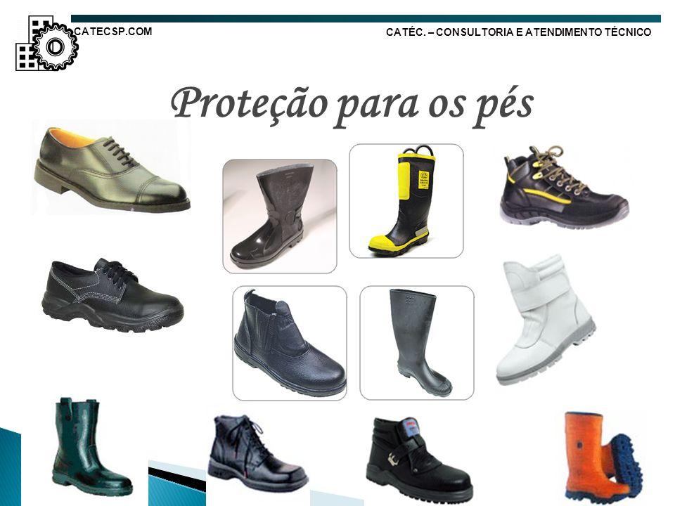 Proteção para os pés CATECSP.COM