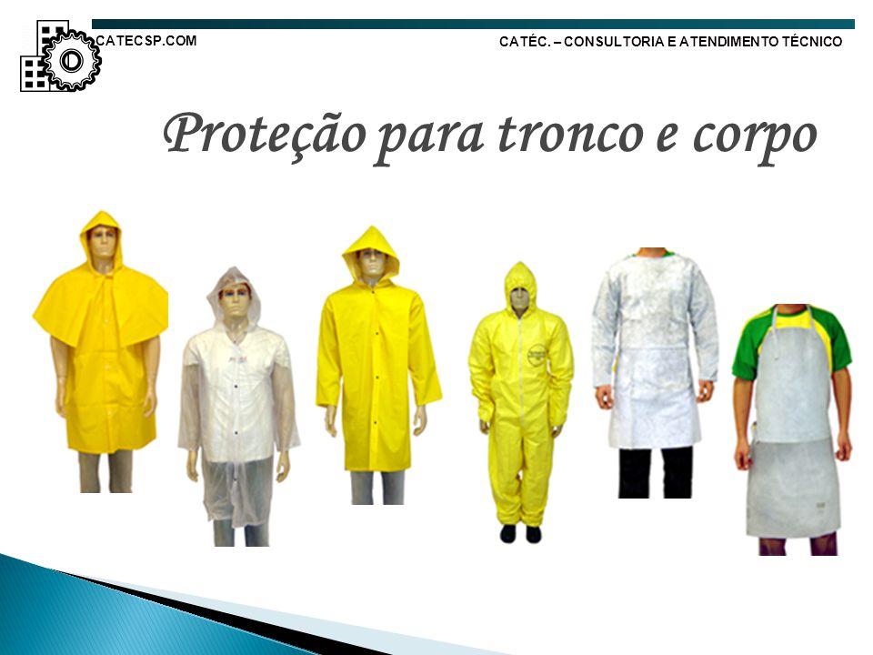 Proteção para tronco e corpo