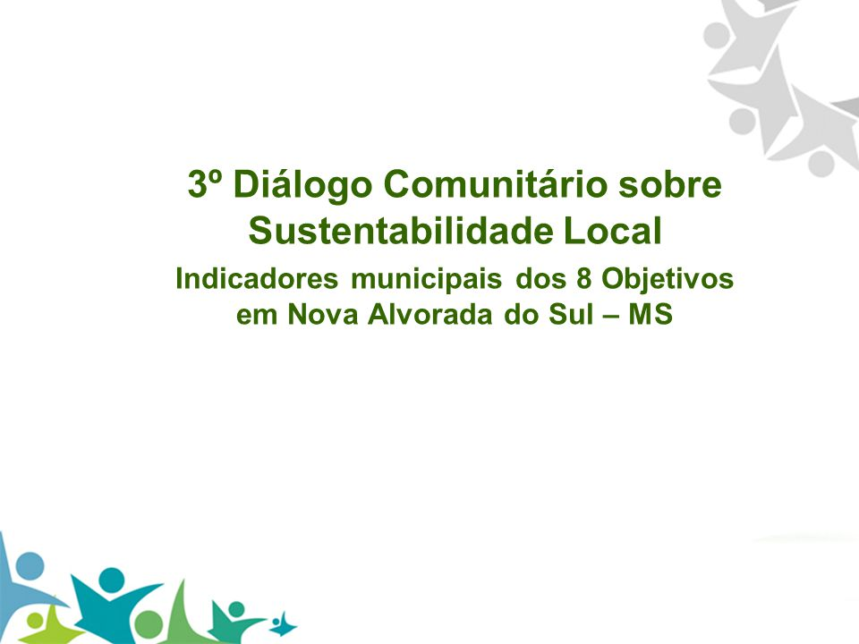 3º Diálogo Comunitário sobre Sustentabilidade Local
