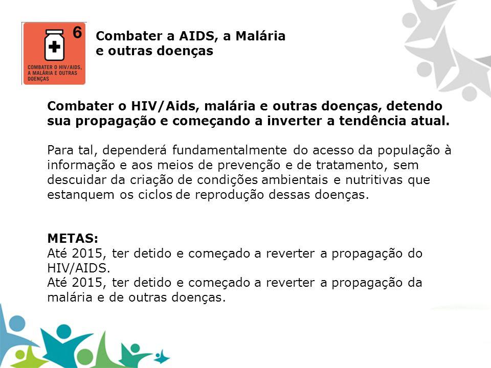 Combater a AIDS, a Malária