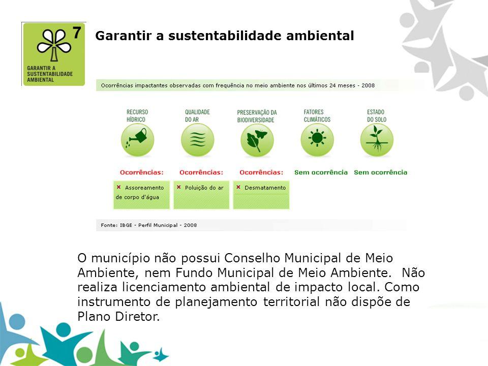 Garantir a sustentabilidade ambiental