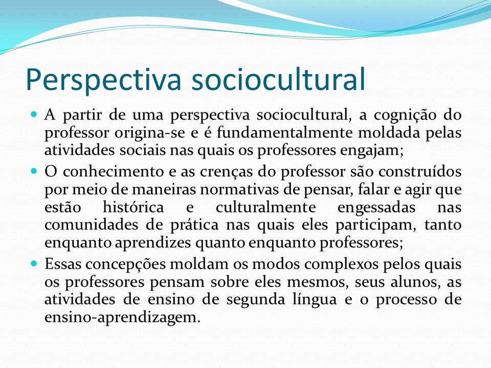 Perspectiva sociocultural