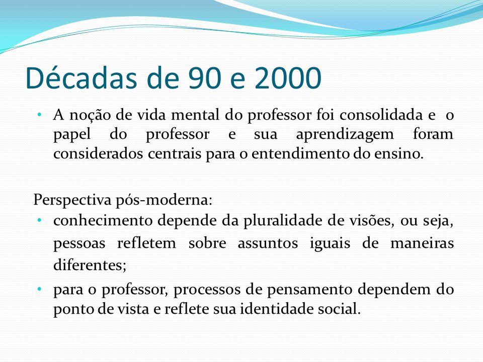 Décadas de 90 e 2000