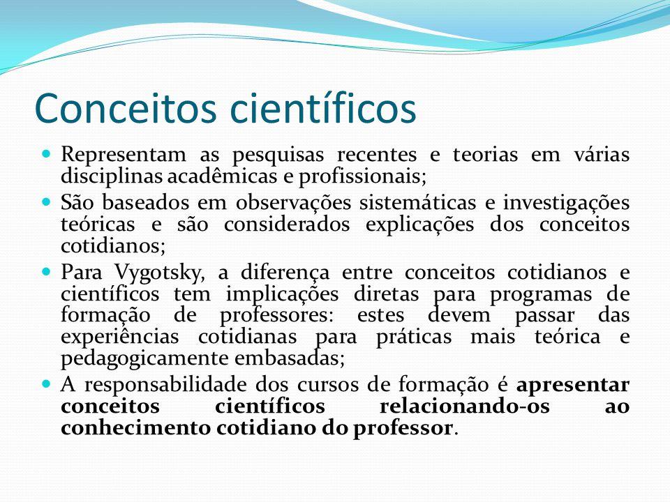 Conceitos científicos