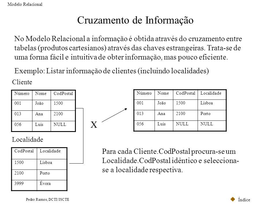 Cruzamento de Informação