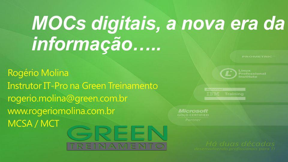 MOCs digitais, a nova era da informação…..