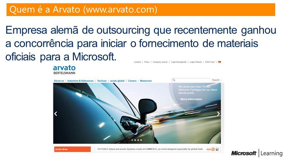 Quem é a Arvato (www.arvato.com)