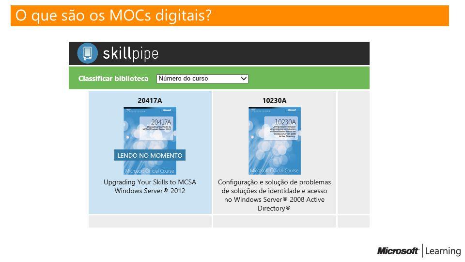 O que são os MOCs digitais