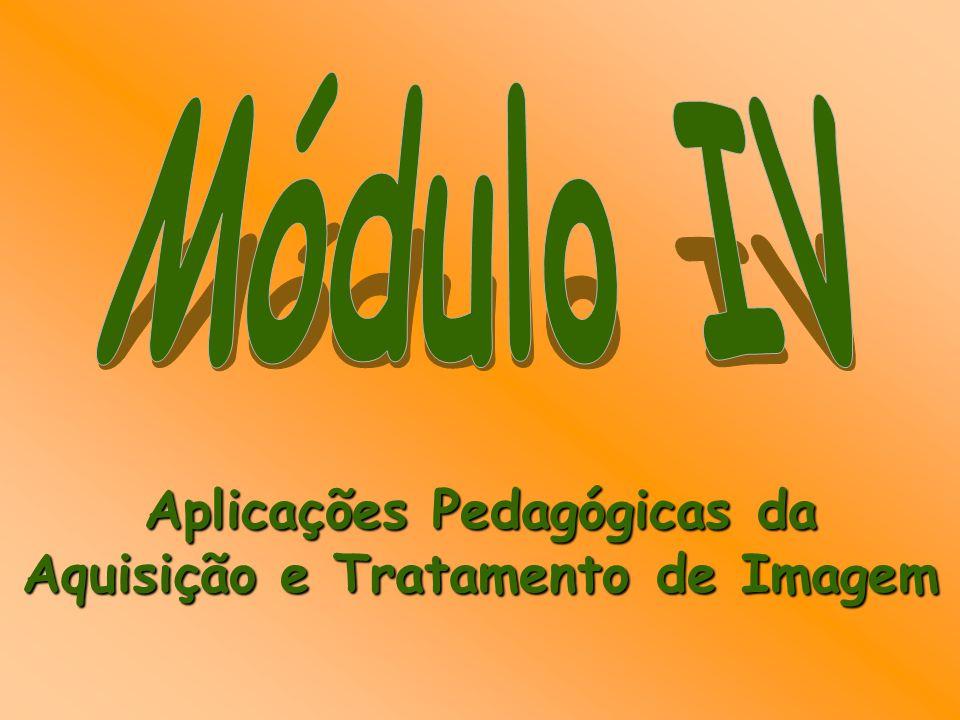 Aplicações Pedagógicas da Aquisição e Tratamento de Imagem