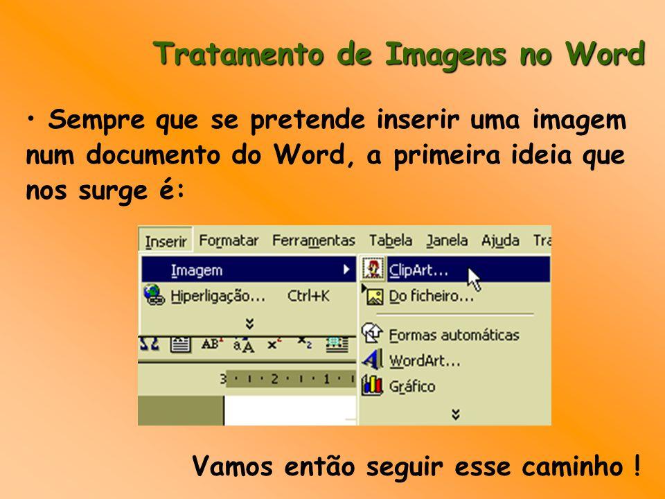Tratamento de Imagens no Word