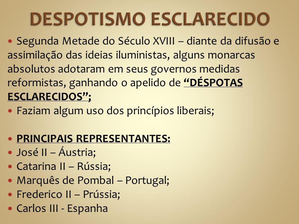 DESPOTISMO ESCLARECIDO