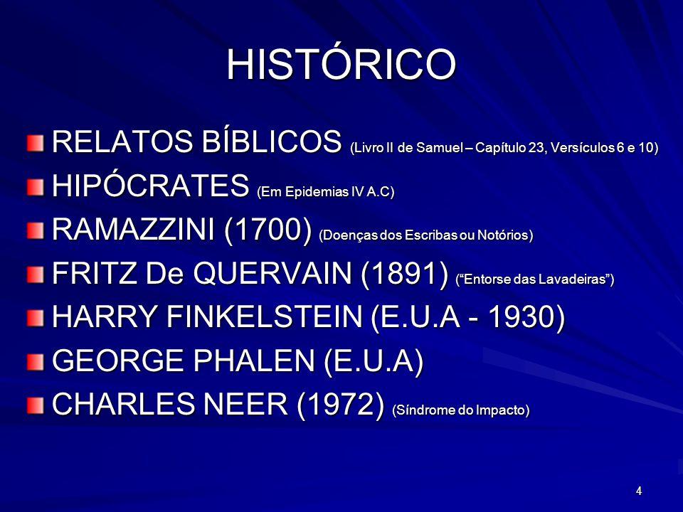 HISTÓRICO RELATOS BÍBLICOS (Livro II de Samuel – Capítulo 23, Versículos 6 e 10) HIPÓCRATES (Em Epidemias IV A.C)