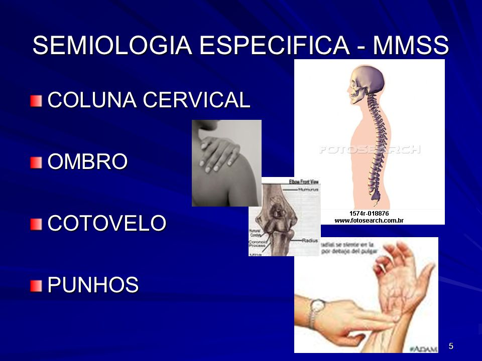 SEMIOLOGIA ESPECIFICA - MMSS