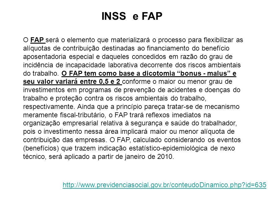 INSS e FAP