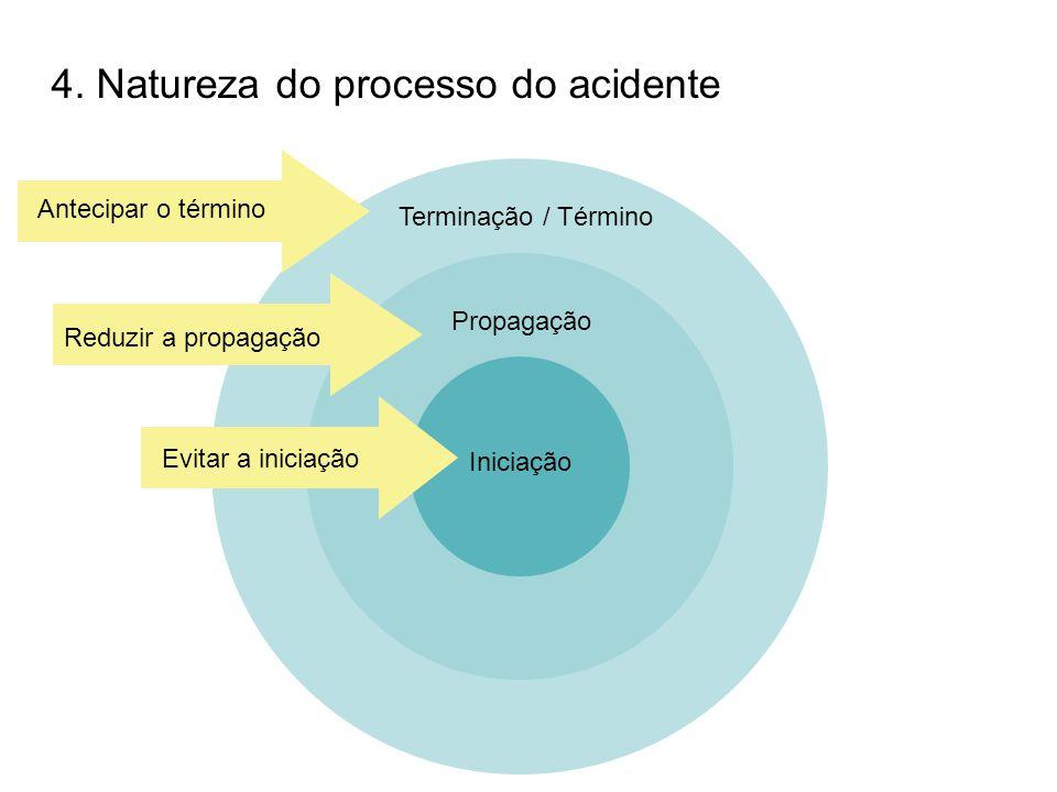 4. Natureza do processo do acidente