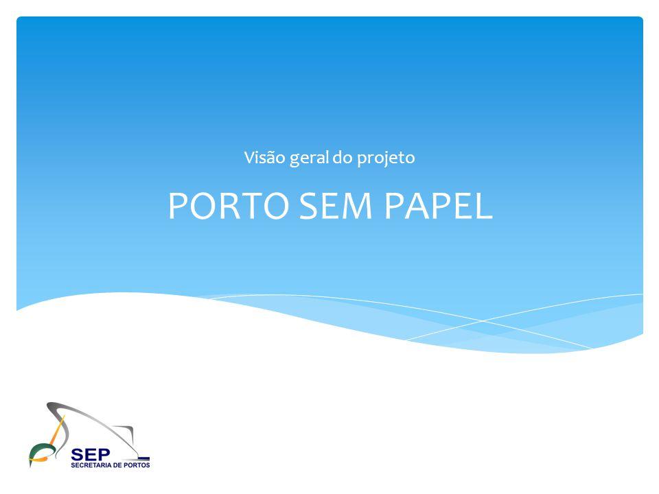 Visão geral do projeto PORTO SEM PAPEL