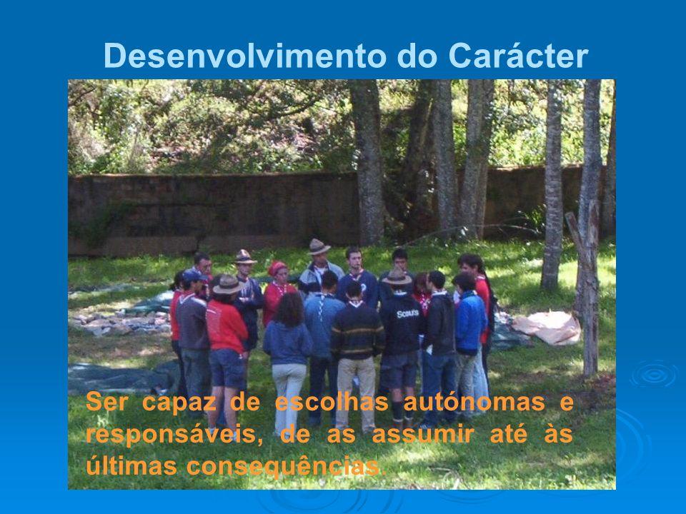 Desenvolvimento do Carácter